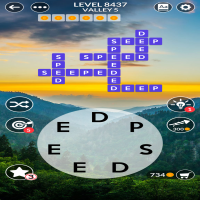 Wordscapes level 8437
