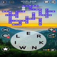 Wordscapes level 8444