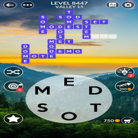 Wordscapes level 8447