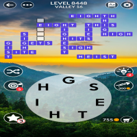 Wordscapes level 8448