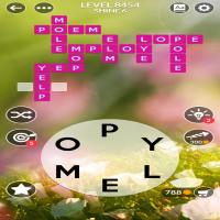 Wordscapes level 8454