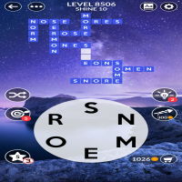 Wordscapes level 8506
