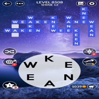 Wordscapes level 8508