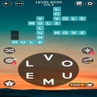 Wordscapes level 8520