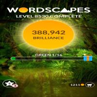 Wordscapes level 8530