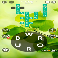 Wordscapes level 8607