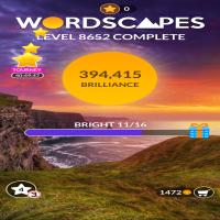 Wordscapes level 8652