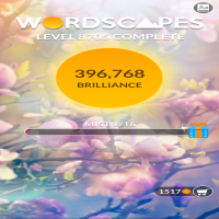 Wordscapes level 8705