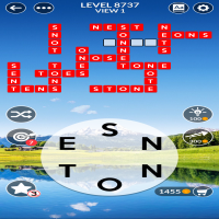 Wordscapes level 8737
