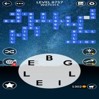 Wordscapes level 8757