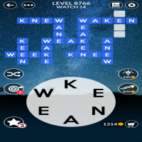 Wordscapes level 8766