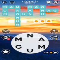 Wordscapes level 8775