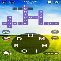 Wordscapes level 8807