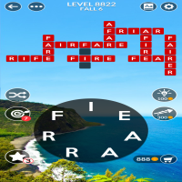 Wordscapes level 8822