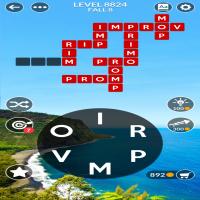 Wordscapes level 8824
