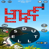 Wordscapes level 8827
