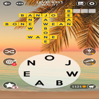 Wordscapes level 8951