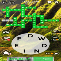 Wordscapes level 8990