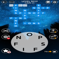 Wordscapes level 9019