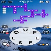 Wordscapes level 9026