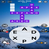Wordscapes level 9028