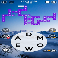 Wordscapes level 9034