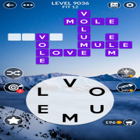 Wordscapes level 9036