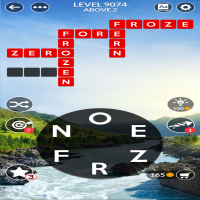 Wordscapes level 9074