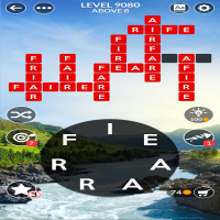Wordscapes level 9080