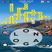 Wordscapes level 9168