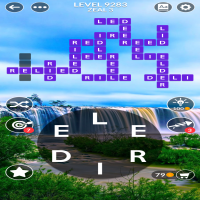 Wordscapes level 9283