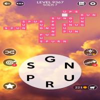 Wordscapes level 9367