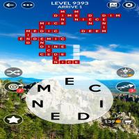 Wordscapes level 9393