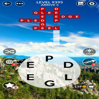Wordscapes level 9395