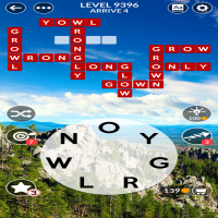 Wordscapes level 9396