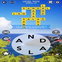 Wordscapes level 9422
