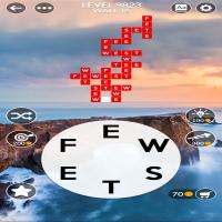 Wordscapes level 9823