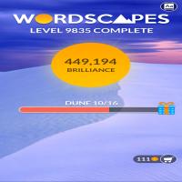 Wordscapes Level 9835