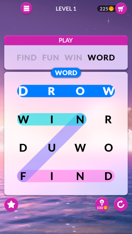 wordscapes search level 1