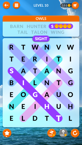 wordscapes search level 10
