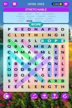 wordscapes search level 1022