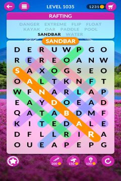 wordscapes search level 1035