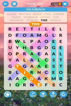 wordscapes search level 1047