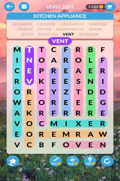 wordscapes search level 1051