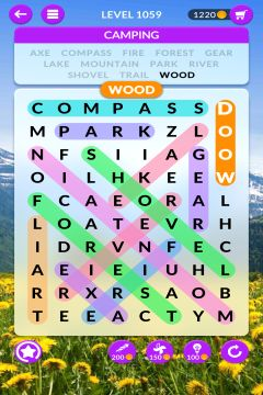 wordscapes search level 1059