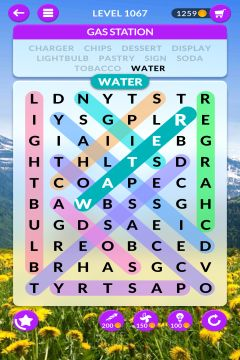 wordscapes search level 1067