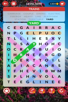 wordscapes search level 1078