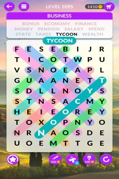 wordscapes search level 1095