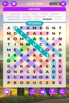 wordscapes search level 1098