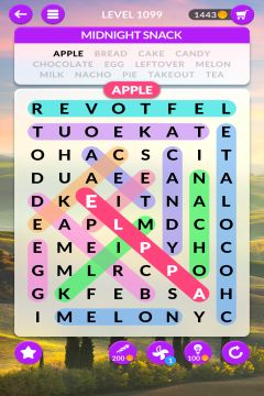 wordscapes search level 1099